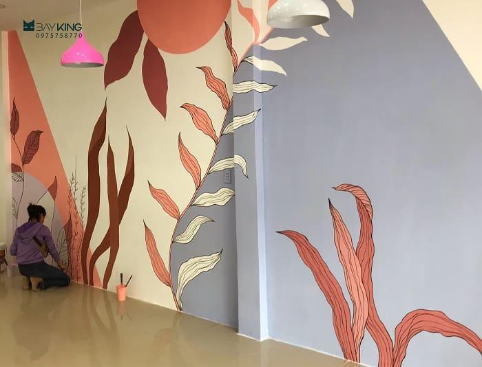 dịch vụ vẽ tranh tường phòng ngủ tphcm