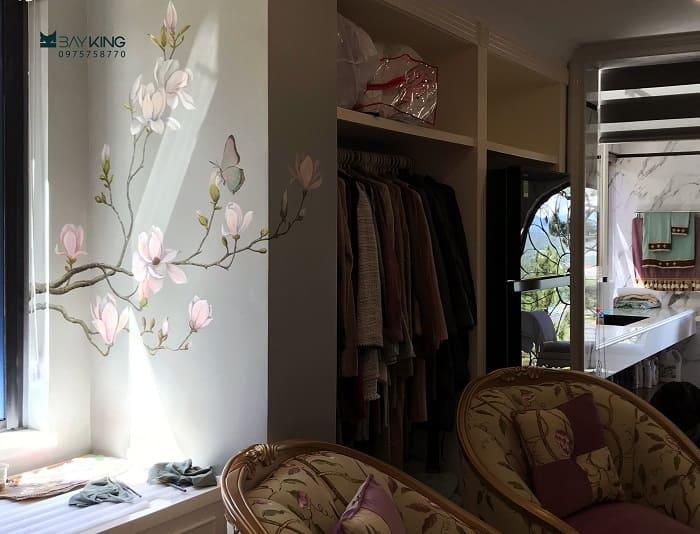 dịch vụ vẽ tranh tường phòng ngủ tại tphcm