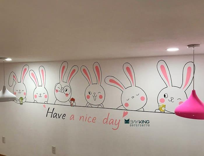 dịch vụ vẽ tranh tường phòng ngủ