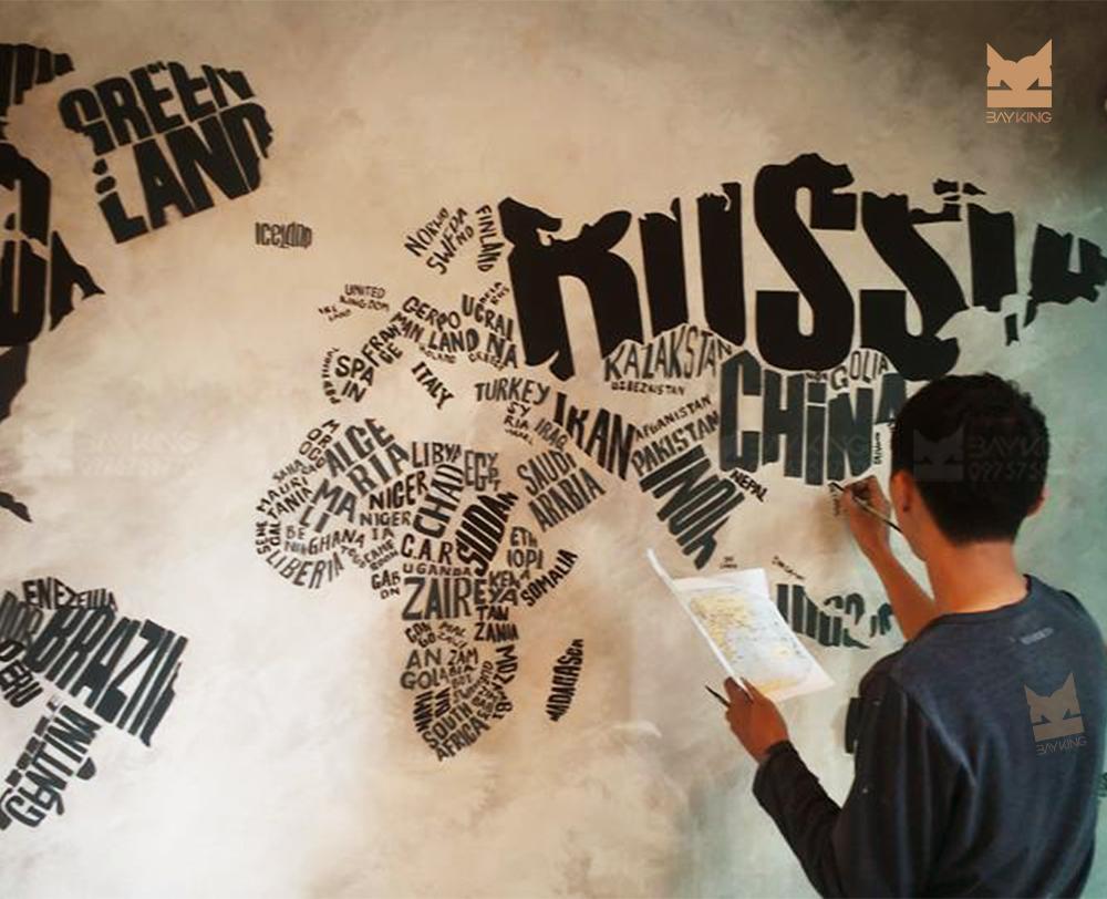 cách vẽ typography bằng tay