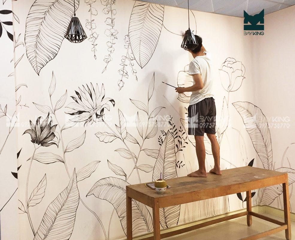 kỹ thuật vẽ tranh tường