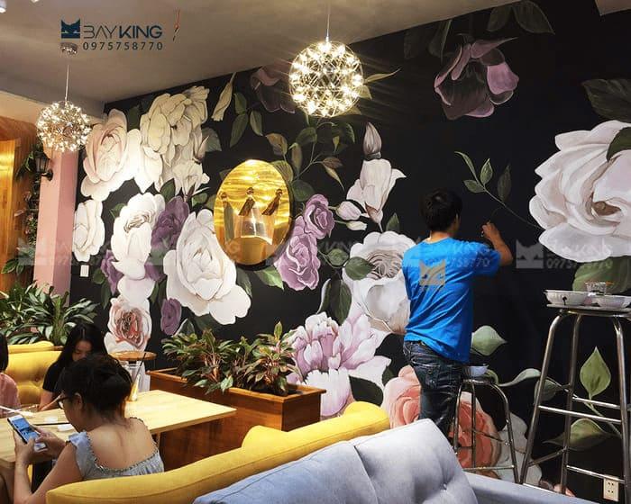 Tranh 3d Hoa