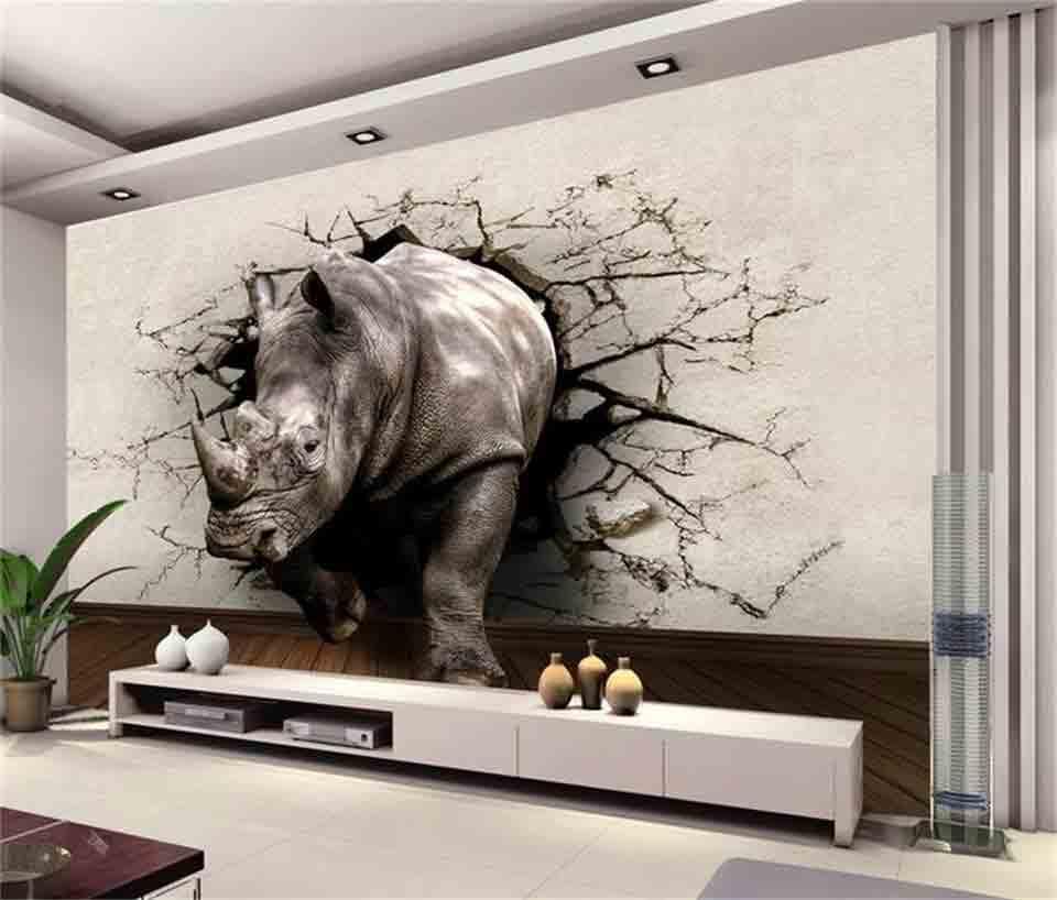 vẽ tranh tường 3d giá rẻ