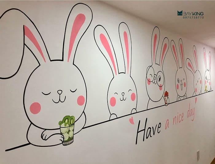 dịch vụ vẽ tranh tường nhà hàng
