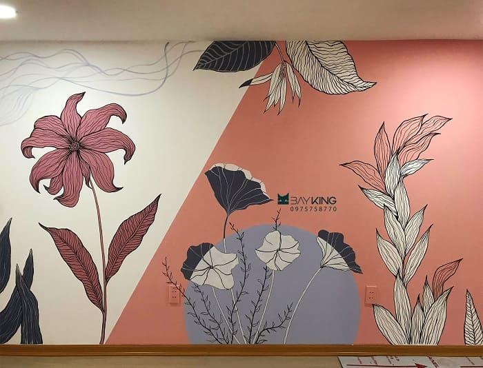 dịch vụ vẽ tranh tường nhà hàng tốt nhất