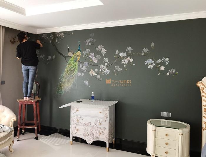 dịch vụ vẽ tranh tường chuyên nghiệp