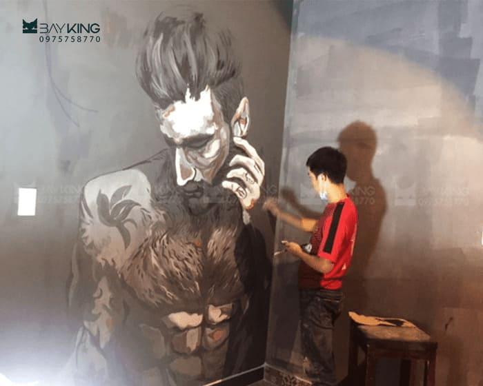 vẽ tranh tường giá rẻ hcm