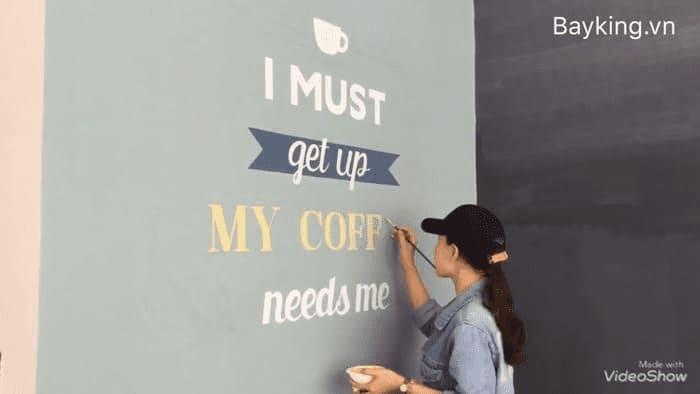 Vẽ tranh tường quán cafe có giá thành rẻ