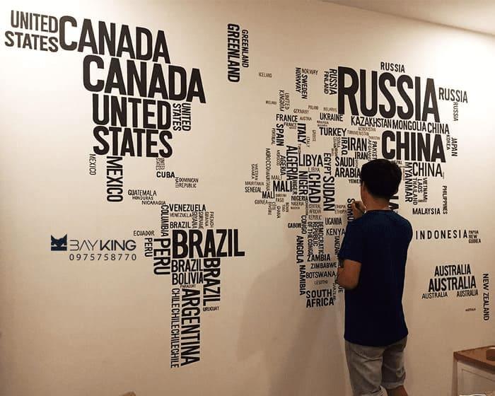 Vẽ tranh tường quán cafe thỏa sức sáng tạo